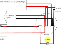 wiring diagram for 2 light fixtures remote control for light