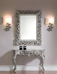 entrance table and mirror sorrento console table with wall mirror set beautiful images ideas
