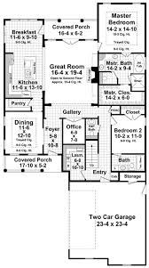 courtyard garage house plans plan 51111mm two covered porches and courtyard garage porch