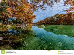 Garner State Park Map Emerald Water And Bright Fall Foliage At Garner State Park Texas