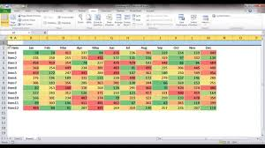 tutorial xlstat how to make a heatmap in excel etame mibawa co