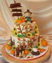 pumpkin patch cake fall birthday cake autumn cake birthday