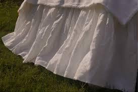 Detachable Bed Skirts Linen Bed Skirt White Z 3 Jpg T U003d1434491002