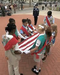 Flag Folding Ceremony Scouts Perform Retreat Ceremony At Randolph U003e Joint Base San