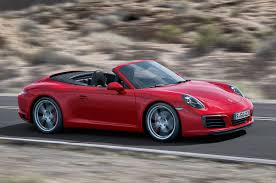 1990 porsche 911 red 2017 porsche 911 carrera s cabriolet pdk review