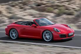 singer porsche red 2017 porsche 911 carrera s cabriolet pdk review