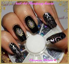 nail art stamping mania born pretty store decorations and hehe plate