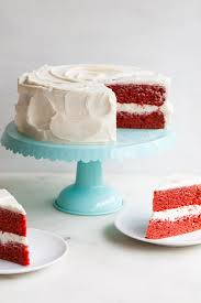 red velvet cake with cream cheese frosting u2014 style sweet ca