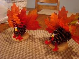 turkey pine cone craft friends of rippey