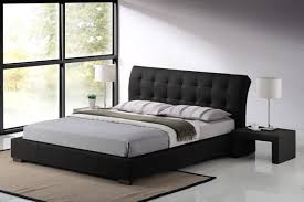tufted modern bed frames the holland most cozy and modern bed