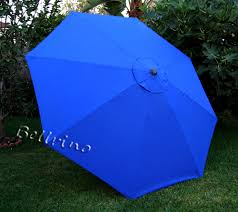 Patio Umbrella Canopy Replacement 8 Ribs royal blue umbrella canopy 9 ft 8 ribs top patio market