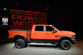 2017 ram 2500 power wagon adopts a rebel like face upgraded chassis