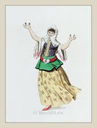 Constantinople Ottoman Empire A Dancer At Constantinople Ottoman Empire Costume History