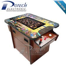 22 inch led trackball pacman cocktail table video arcade game