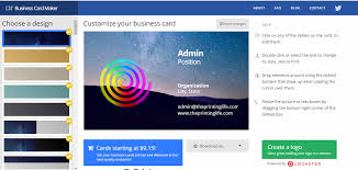 Best Business Card Creator The Best Business Card Design Software The Printing Life