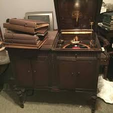 victrola record player cabinet best vintage victrola record player for sale in quincy