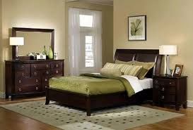 bedroom amusing dark brown wall design in luxury master bedroom