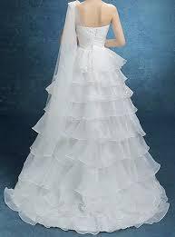 hem wedding dress s white asymmetrical hem one shoulder stylish carpet