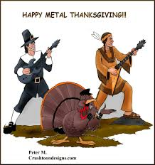 heavy metal thanksgiving t shirts assorted gift items by