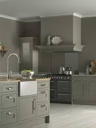 awesome l shape kitchen decoration using grey taupe kitchen