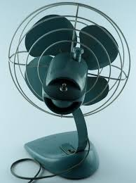 vintage fans general electric 14 metal desk fan vintage industrial steunk