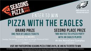 pizza with the eagles sweepstakes official rules