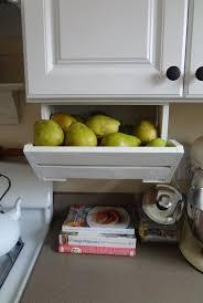 vegetable storage kitchen cabinets fruit storage baskets ideas on foter
