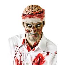 halloween costumes zombies zombie brains with bandage halloween fancy dress accessory