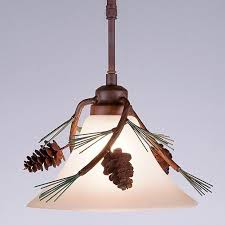Cone Pendant Light Cedarwood Pendant Light Pine Cone