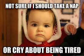 Being Tired Meme - mood swing meme how a mum s photo of her grumpy toddler went