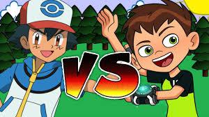 ben 10 vs pokemon youtube