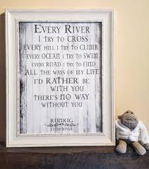 every river u201d version 6 runrig u2013 shabby chic frame lyrics art