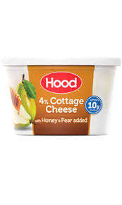 How Much Fiber In Cottage Cheese by Hood Cottage Cheese With Honey U0026 Pear