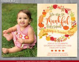 fall birthday invite etsy