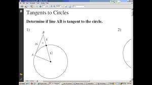 Segment Lengths In Circles Worksheet Answers Tangents Of Circles