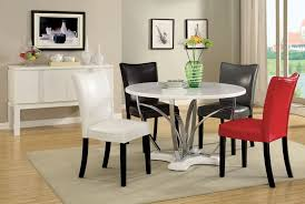 luxury wood round dining tables set home and dining room