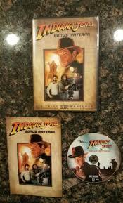 indiana jones bonus material dvd not the movie rare like new w