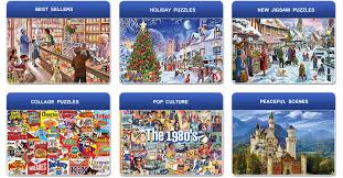 america s favorite jigsaw puzzles for adults families