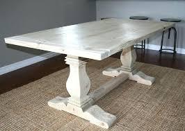 custom made dining tables uk trestle leg dining table view in gallery trestle table from custom
