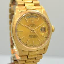 golden jubilee diamond size comparison 1982 rolex day date president yellow gold 18k ref 18078 cool