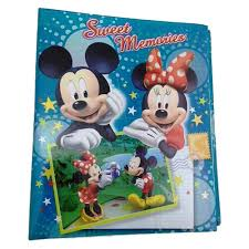 minnie mouse photo album mickey mouse and minnie mouse medium photo album monogram