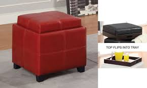 flame red storage ottoman do you dare u2013 home improvement 2017