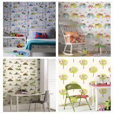 Wallpaper For Kids Bedrooms Kids Bedroom Nursery Wallpaper Holden Decor Playtime Collection