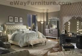 Master Bedroom Sets Pearl White Leather King Bed Bedroom Set Master