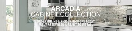 Kitchen Cabinets Canada Online Arcadia Cabinet Collection Lowe U0027s Canada