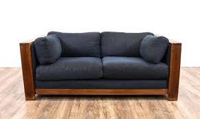 wood trim sofa wood frame couch with removable cushions sofa design ideas