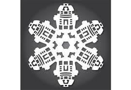 Winter Wonderland Diy Decorations - diy a hoth winter wonderland with star wars snowflakes paperblog