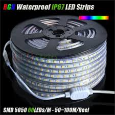 super bright smd 5050 rgb led strip lights super bright high power 220v 5050smd outdoor waterproof ip67 super
