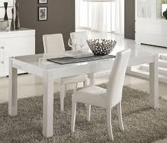 D Coratif Table A Manger D Coratif Table Salle A Manger Blanc Laqu Laque Frizz Zd1 Z Chaise