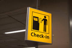 Yellow Airport Direction Check Sign Stock Photos 65 Images